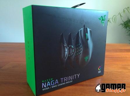 test souris- Razer Naga Trinity