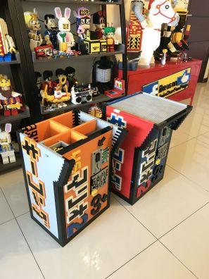 Borne arcade Donkey Kong en LEGO - socle
