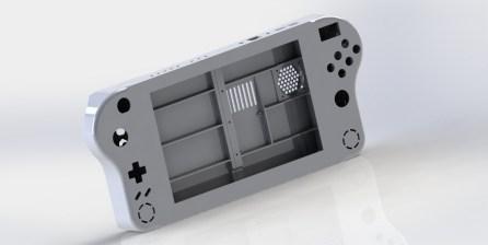console portable RGB RF1 - Design