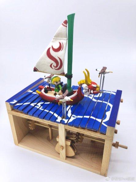 Un automate The Legend of Zelda Wind Waker