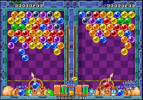 niveau Puzzle Bobble