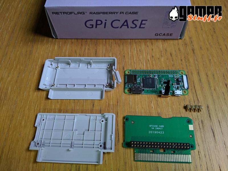 boitier Raspberry Pi Retroflag GPi Case - Nintendo Gameboy