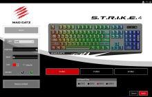 clavier Mad Catz S.T.R.I.K.E.4