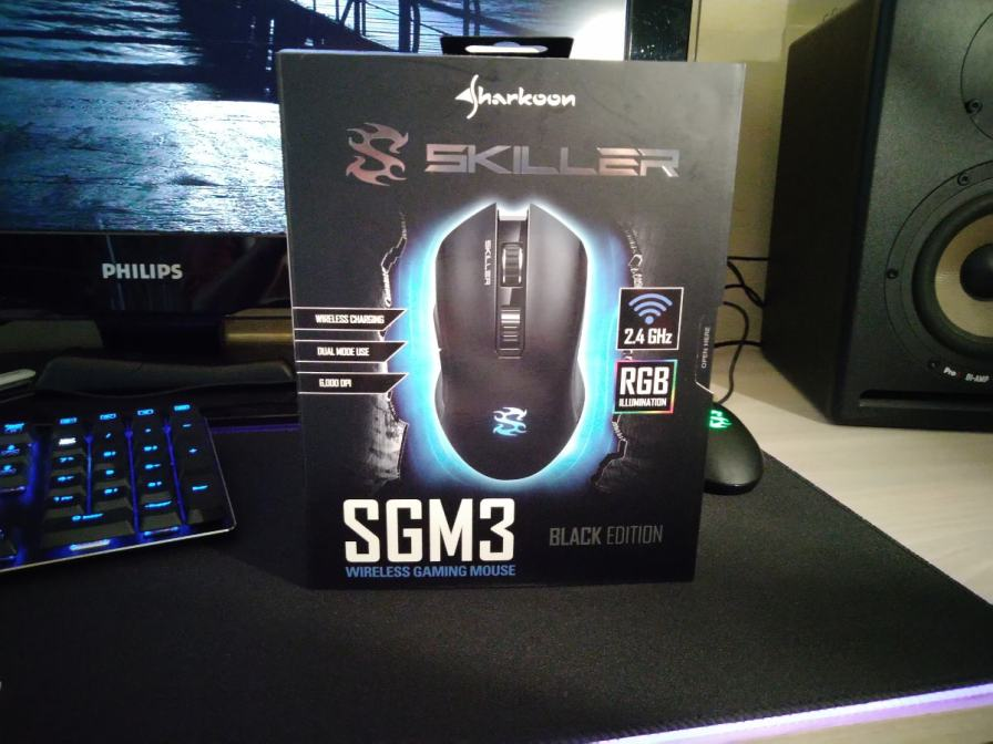 Souris Sharkoon Skiller SGM3
