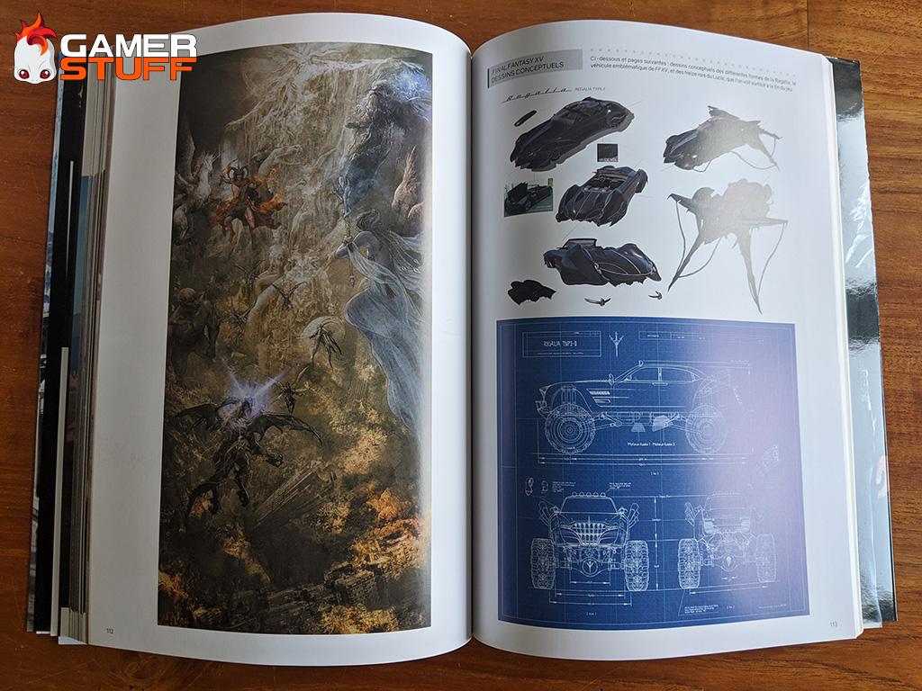 livre Mana Books Final Fantasy XV Official Works
