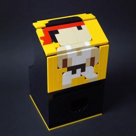 borne arcade Lego Street Fighter 2