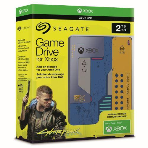 Disque dur Seagate game drive 2 Xbox One Cyberpunk 2077