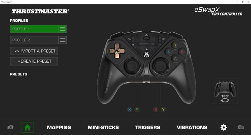 logiciel ThrustmasterX - Xbox