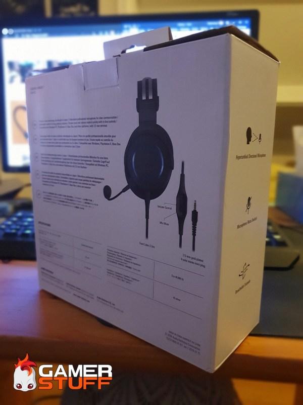 casque gamer Audio Techica ATH G1