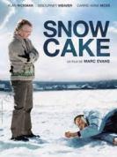 śniegowe ciastko
