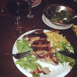 Steak on Argentinian gap year