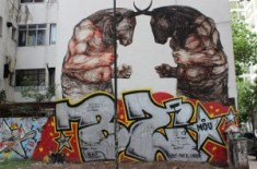 Graffiti tour in Palermo, Argentina