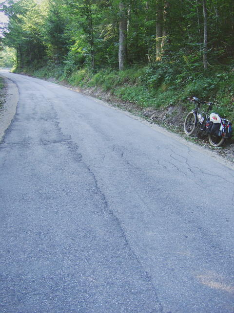 Day 7: Final steep uphill before returning home