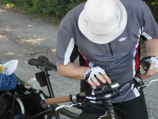 Datarecording am Fahrrad - Garmin Edge 130