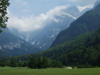 Towards Passo Predil