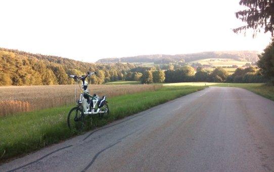 Schmale schnelle Räder für Streetstepper RS20