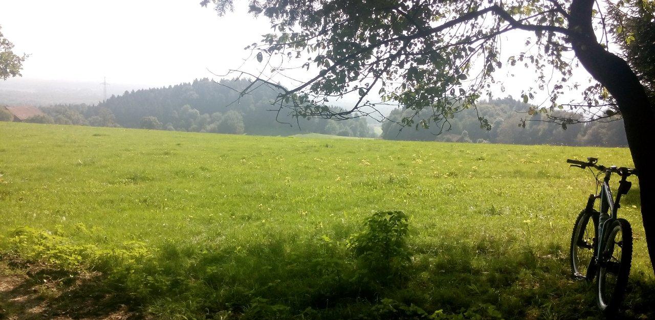 Blick Richtung Inntal/Österreich