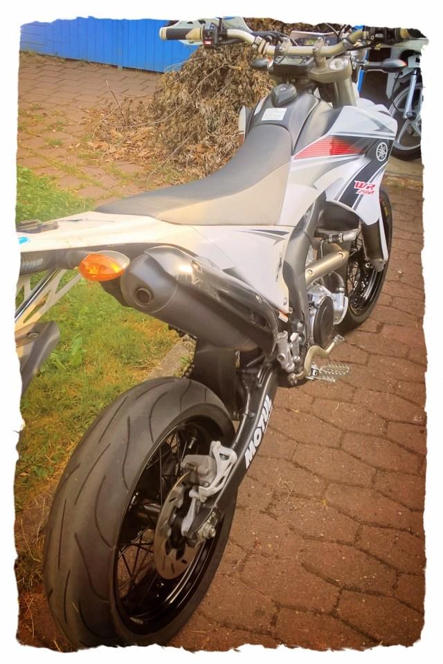 Yamaha WR250R Supermoto