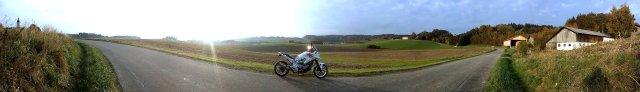 Tomtom Rider 400 an NC700X auf Tour