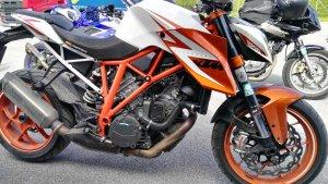 Fahrsicherheitstraining 14.5.2017 Teilnehmermotorrad Superduke 1290