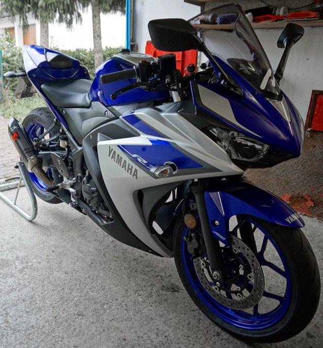 Yamaha YZF-R3 vor dem Verkauf