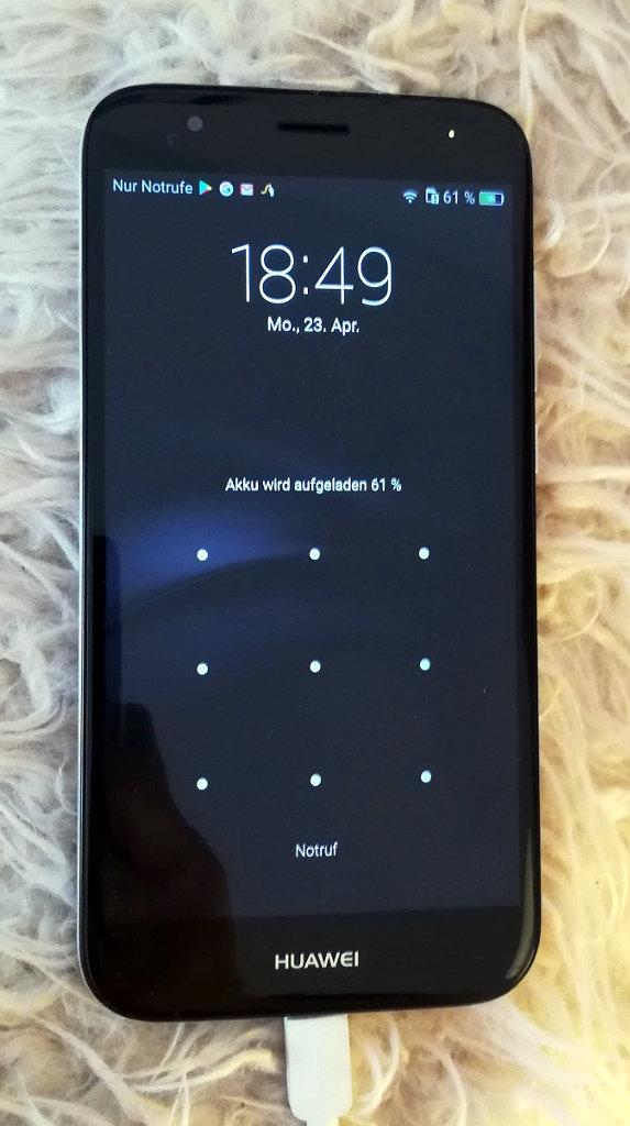 Nach Displaybruch repariertes Huawei G8 - wie neu
