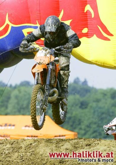 MX Training beim KTM Fest 2003