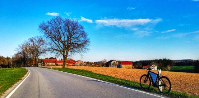 Tourfoto Nähe Wittibreut