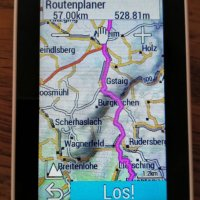 Routingvergleich Openfietsmap - Velomap - Garmin Cycle Map