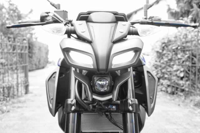 Yamaha MT125 2020 Icon Blue Front
