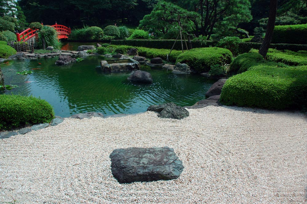 Simple Koi Pond Design