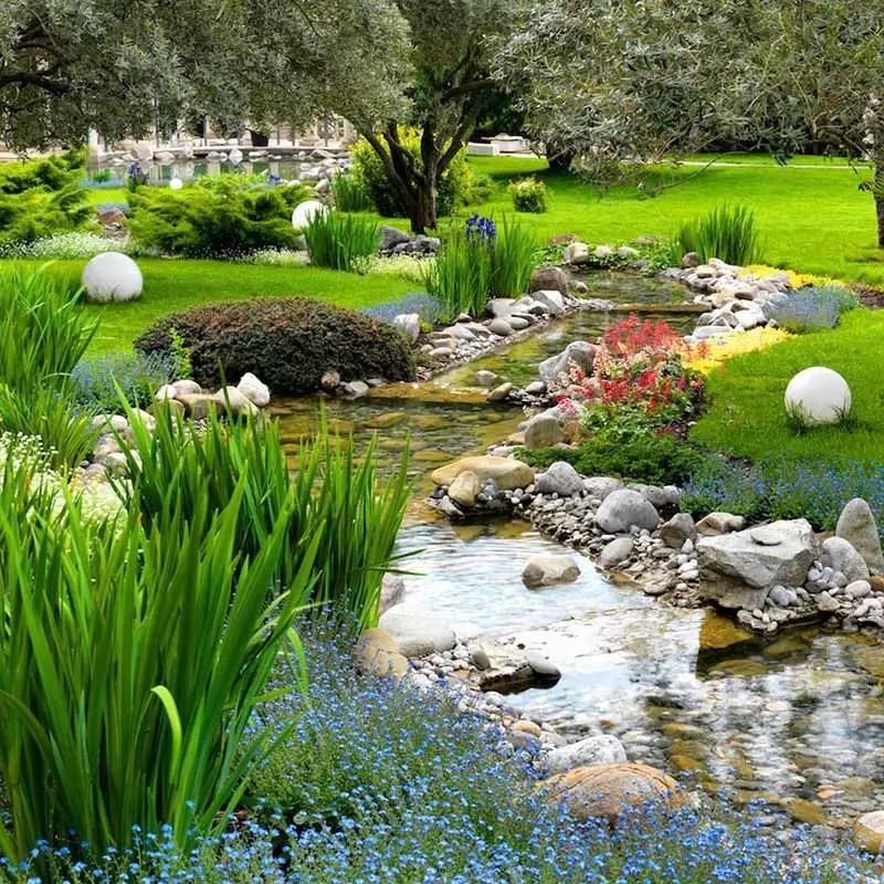 15 Breathtaking Backyard Pond Ideas - Garden Lovers Club on Landscape Pond Design id=42555