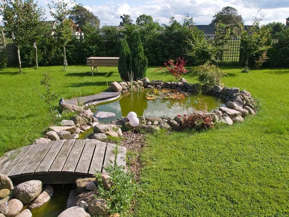 15 Breathtaking Backyard Pond Ideas - Garden Lovers Club on Yard Ponds Ideas id=70569