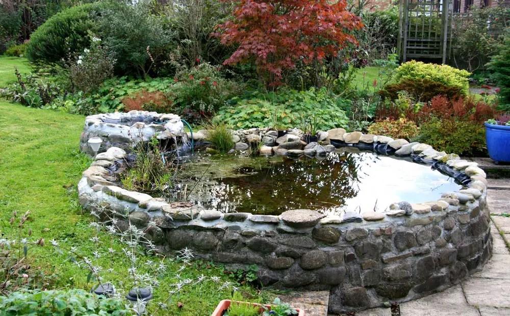 15 Breathtaking Backyard Pond Ideas - Garden Lovers Club on Pond Ideas Backyard id=15404
