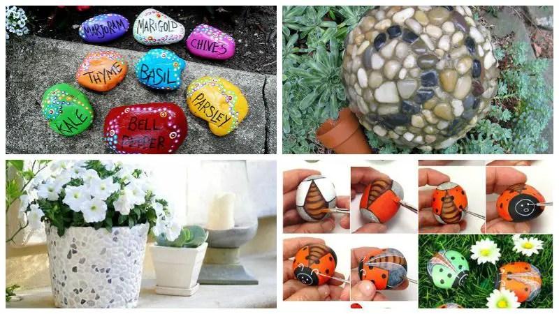 10 Charming DIY Garden Pebble Art Ideas - Garden Lovers Club on Pebble Yard Ideas id=34849