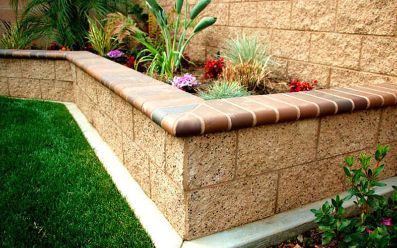 15 Creative Cinder Block Raised Garden Beds - Garden ... on Backyard Cinder Block Wall Ideas  id=38046