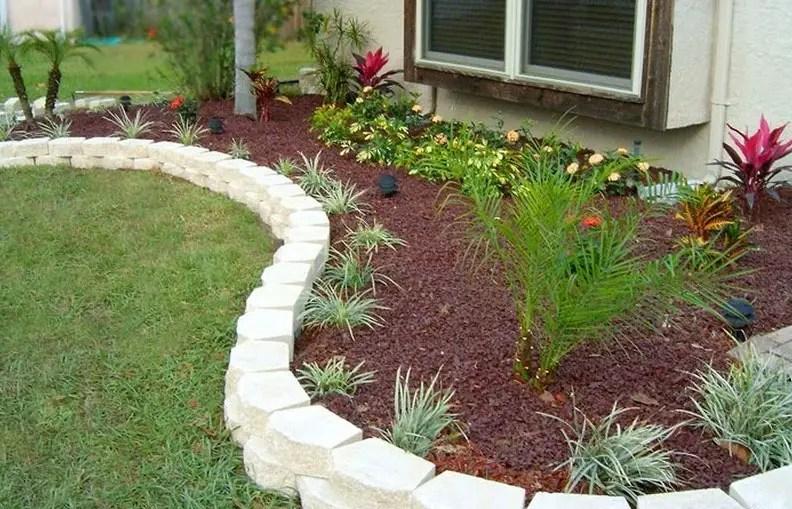 30 Brilliant Garden Edging Ideas You Can Do At Home ... on Backyard Border Ideas id=40274