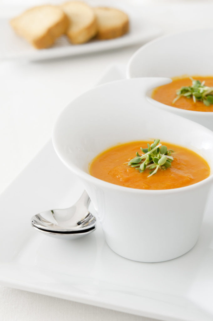 Roasted Carrot and Kale Detox Soup Recipe