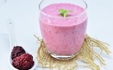 blackberry-mint-milkshake