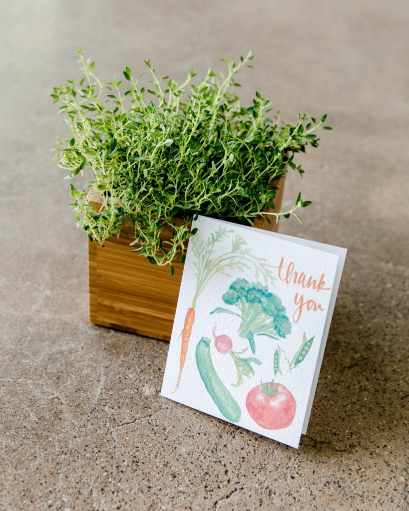 Herb Garden Box Gift