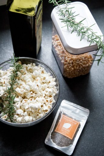 Rosemary Popcorn for Father's Day Movie Night