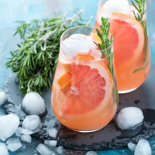 Rosemary & Grapefruit drink