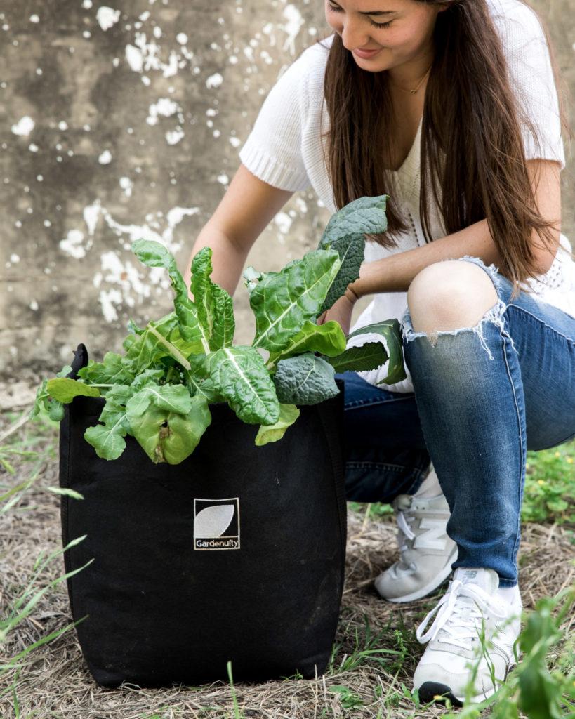 Celebrating Earthday While Gardening