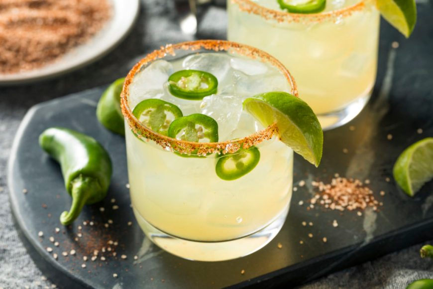 Jalapeño Simple Syrup Margarita