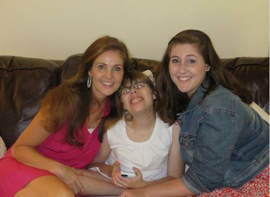 Donna with Madison and Jillian
