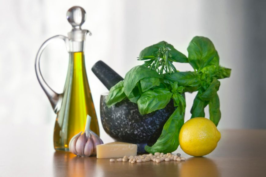 Infused Oil Basil Recipe