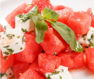 Summer Salad Recipe with Watermelon