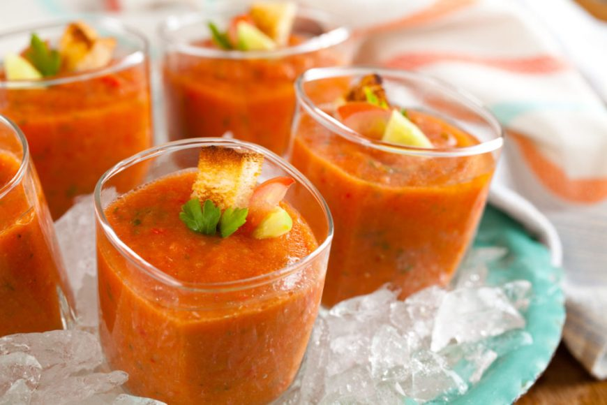 Cucumber Gazpacho Recipe
