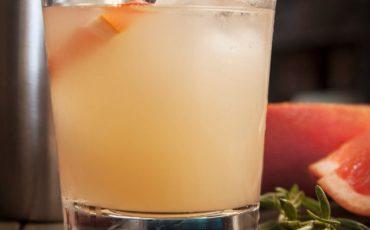 Sunset Rose Cocktail
