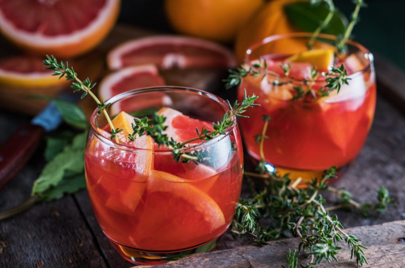 Herb and Blood Orange Negroni Recipe | Step by Step Guide